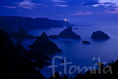 紀伊大島、黎明の海.jpg