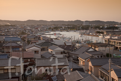 B2大原の町並と漁港夕景.jpg