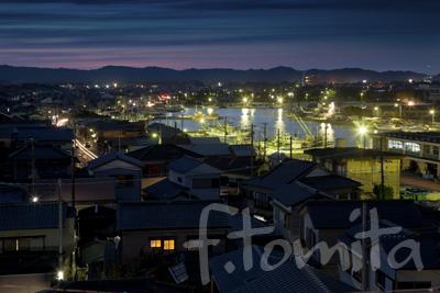 B3大原の町並と漁港夜景.jpg