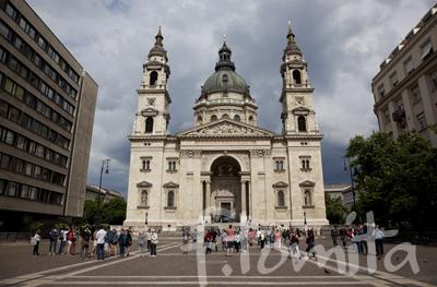 ハンガリー、ブタペスト、聖イシュトヴァ−ン大聖堂.jpg