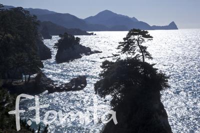 光る海堂が島