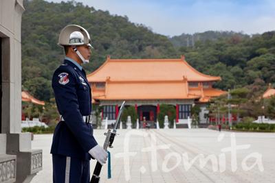 B6台北、中烈祠の衛兵.jpg